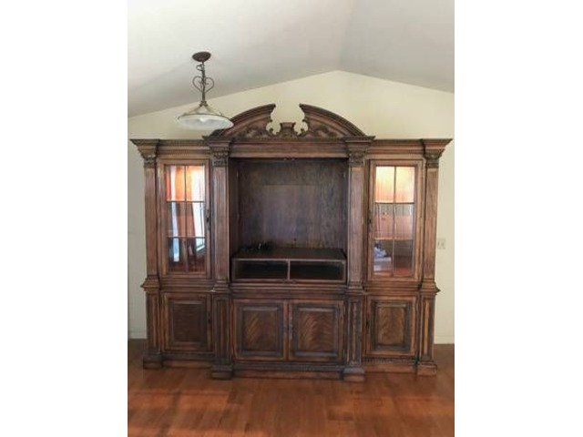 Walnut Entertainment Center Sale or Trade in Williams, Colusa County